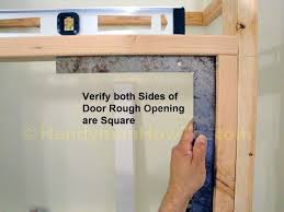 Build Closet Door Closet Door Frame How To Build A Basement Pics For