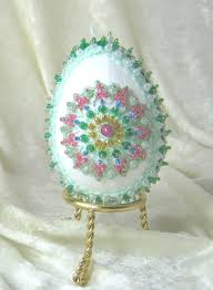 glass easter egg ornaments 217 best create egg ornaments images on easter eggs