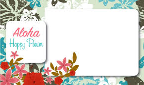 purim cards aloha a hawaiian purim customize your free purim cards