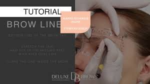 deluxe brows manual and machine permanent makeup video tutorial