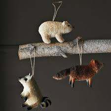 bottle brush animal ornaments ornaments i d like to