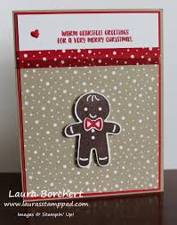 gingerbread man cookie cutter christmas stampin u0027 up stamp set