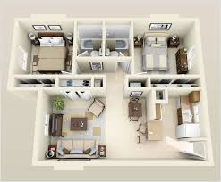 Small 2 Bedroom House Plans Apartment Fabulous Two Bedroom Apartment Floor Plans 3d Small