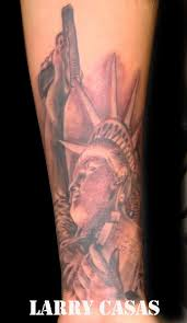 statue of liberty tattoo by larry69 on deviantart