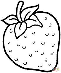 download coloring pages strawberry coloring page strawberry