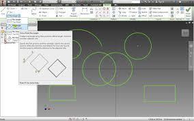 autodesk inventor 2014 basic sketch techniques part 4 essentials