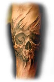 new skull tattoo trend in 2017 real photo pictures images and