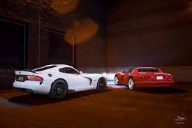 first and last dodge viper generations 1992 and 2014 6000x4000