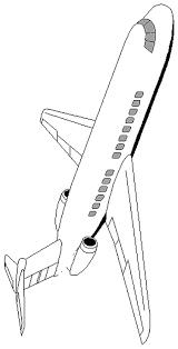 airplane saftey coloring pages planse de colorat airplane