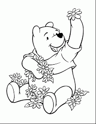 beautiful winnie pooh coloring pages with pooh coloring pages