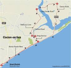 clacton on sea map clacton gears up to host tour of britain 2017 stage five time