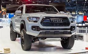 Trd Canada 2017 Toyota Tacoma Trd Pro Cement Color Toyota Suv 2018