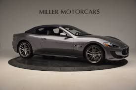 2016 maserati granturismo 2016 maserati granturismo convertible sport stock m1455 for sale