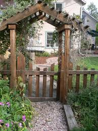 innovation garden arch with gate stunning decoration garden gate