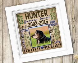 personalized in loving memory gifts 25 best dog memorial gifts ideas on pet memorial