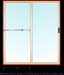 how to measure sliding glass doors shop sliding door locks sliding glass door lock