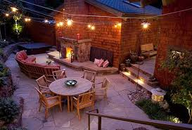 Hanging Patio Lights by Hanging Outdoor Patio Lights Incredible Idea To Create Outdoor