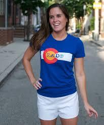 How To Make A Colorado Flag Tie Dye Shirt Colorado Flag Rado Ladies U0027 Tshirt By Milehighrefry On Etsy 24 95