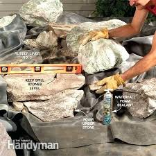 How To Build A Backyard Building A Backyard Waterfall U2013 Mobiledave Me