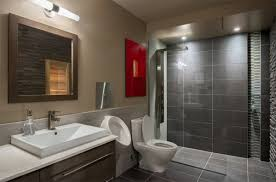 Modern Tiling For Bathrooms Grey Tiled Bathrooms For The Contemporary Home Adorable Home