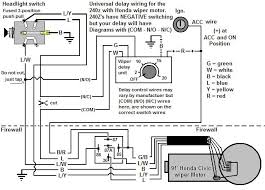 wiring up a honda wiper motor with a twist ignition and
