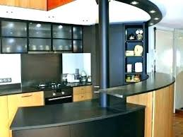 bar comptoir cuisine meuble bar cuisine americaine comptoir separation cuisine salon
