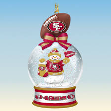 san francisco 49ers snow globe ornaments your 1st one is free