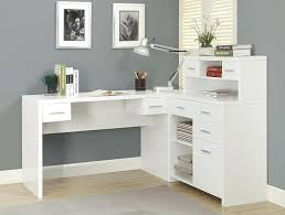 l shaped desk with side storage shaped desk with side storage multiple finishes l shaped desk with