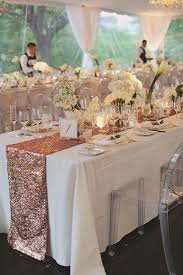 sequin table runner wholesale wholesale 20pcs lot rose gold sequin table runner 12x108 inch