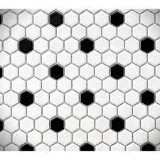 bathroom ideas white mosaic flower tiles indian floor make moon