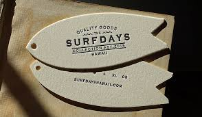 letterpress printing hoban press surfdays