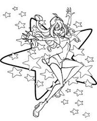 fairy coloring pages winx club fairy coloring pictures books