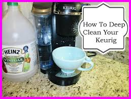 how to deep clean your keurig coffee maker asimplysimplelife