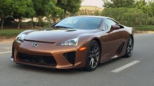 lexus cars buy 645k will buy you the only pearl brown lexus lfa in the world