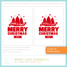 free printable christmas cards no download free 3 x 4 card download the merry card series free printable