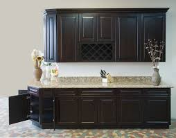 Kitchen Rta Cabinets Dining U0026 Kitchen Chocolate Oak Rta Kitchen Cabinets With Raised