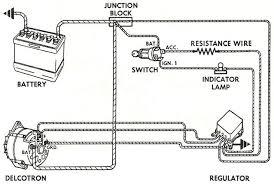 alternator wiring diagram alternator pinterest ford karting