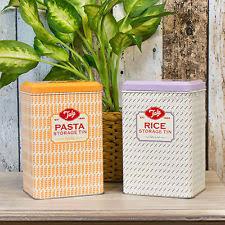 tala metal vintage retro kitchen canisters u0026 jars ebay
