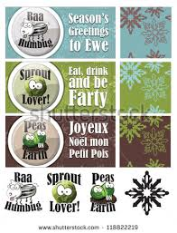 set 3 fun christmas cards repeat stock vector 118822219 shutterstock