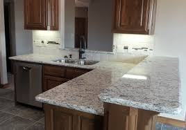 kitchen kitchen design with dallas white granite countertops and