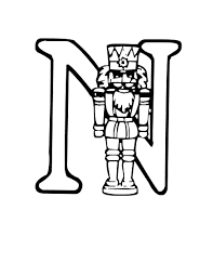 n for nutcracker coloring pages coloringstar