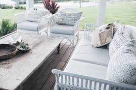 Hamptons Style Outdoor Furniture by Queenslander Setting White Ls Naturally Cane Com Au Daybed 1600