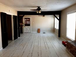 floors white painted wood paint distressed