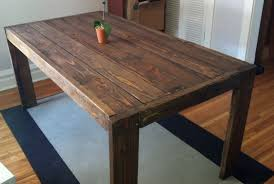 Woodworking Plans For Kitchen Tables by Ana White Modern Farm Table Diy Projects