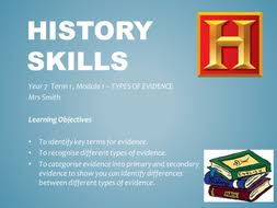 history skills by shell smith teaching resources tes
