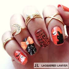 20 craziest halloween nail art ideas beesdiy com