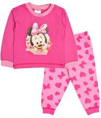 baby boys pyjamas toddlers disney mickey minnie mouse pjs