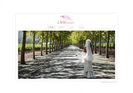 wedding planner website lmm events dstripe custom wedding and event planning website