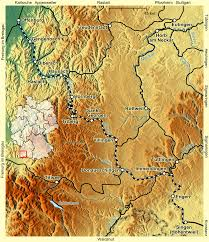 Black Forest Germany Map by Transpress Nz Schwarzwaldbahn Posters Germany