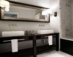 Black And White Bathroom Decor by Dark Wood Bathroom Decoration Decor Walther Wood Bathroom